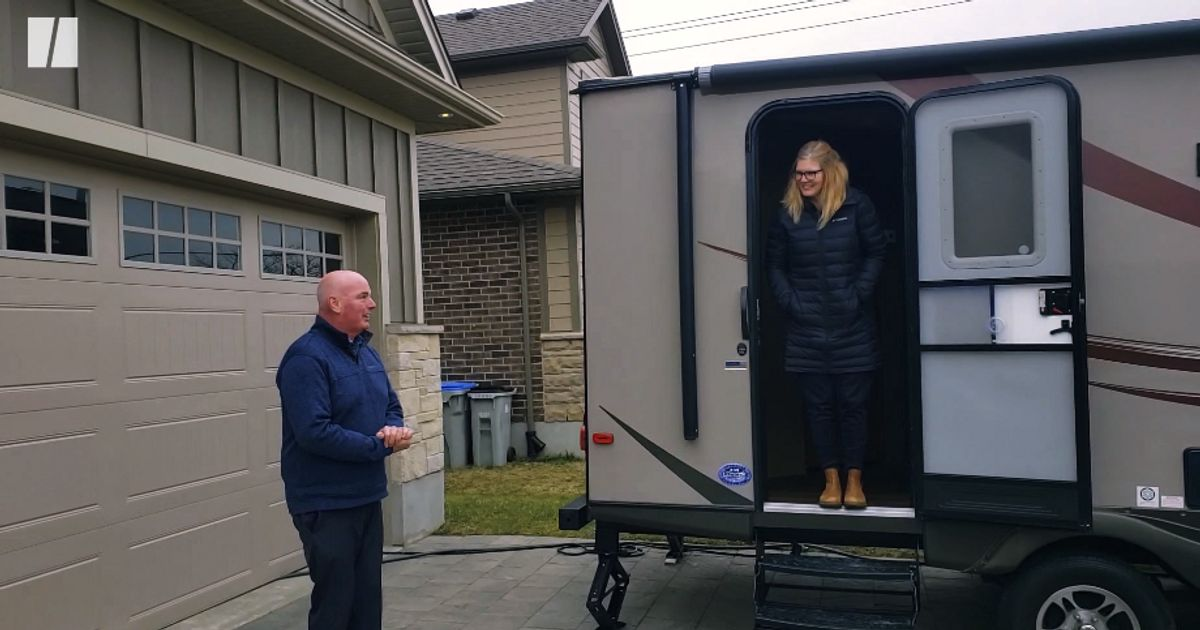 RVs Help Front-Line Workers Social Distance To Keep Their Families Safe