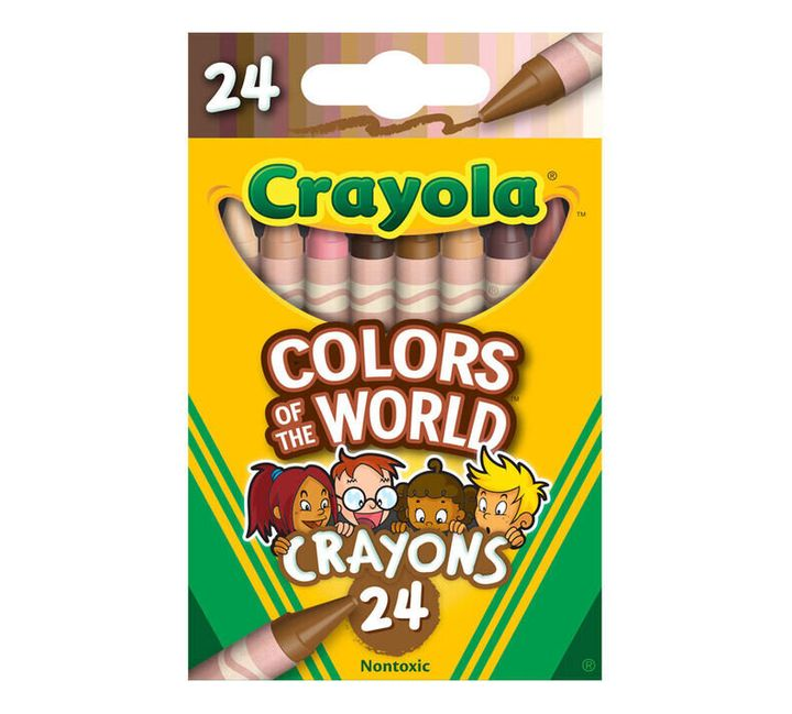 "Crayola announced&nbsp;its&nbsp;<a href=""https://www.crayola.com/worldcolors"" target=""_blank"" rel=""noopener noreferrer"">&ldquo;Colors of the World&rdquo;</a> skin tone crayons."