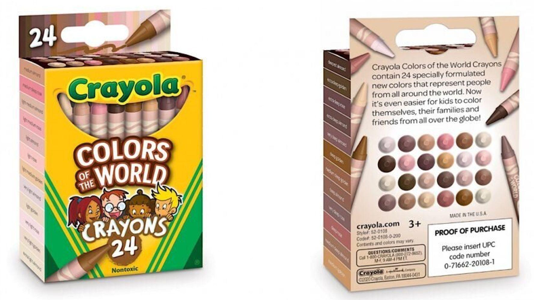 Crayola presenta nuevos crayones de tonos de piel inclusivos