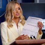 White House Press Secretary Goofs Up, Broadcasts Trump's Banking