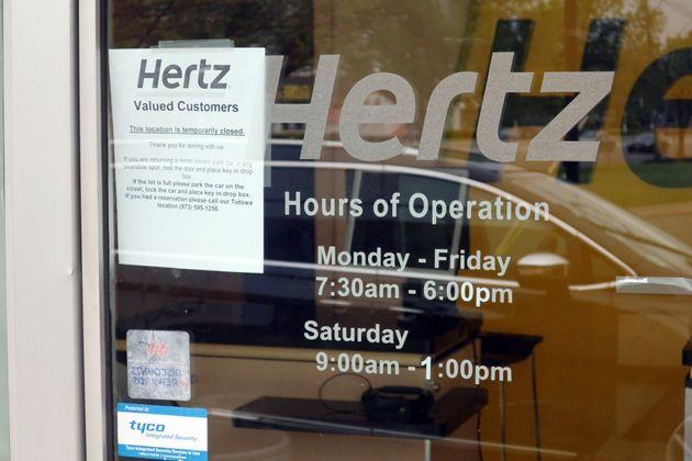 Πτώχευση κήρυξε η Hertz σε ΗΠΑ και Καναδά μετά την πτώση των ενοικιάσεων την περίοδο της
