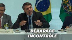 Confinement, armes, Amazonie... La justice diffuse une vidéo de Bolsonaro en plein