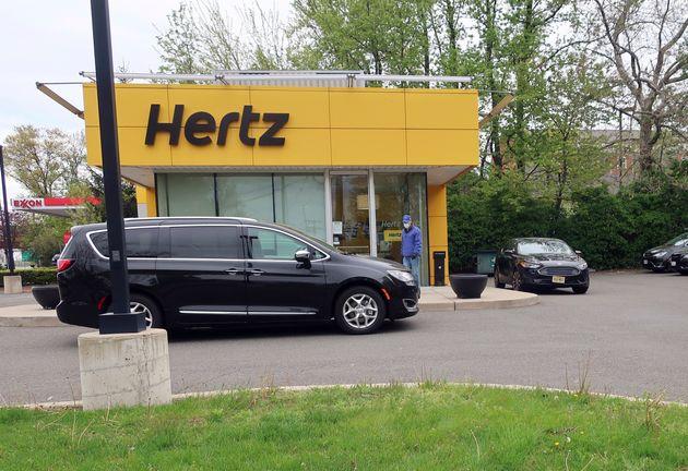 Hertz se déclare en faillite au Canada et aux