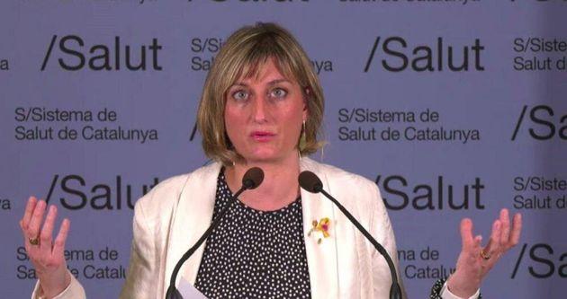 Alba Verges, consejera de Salud de la