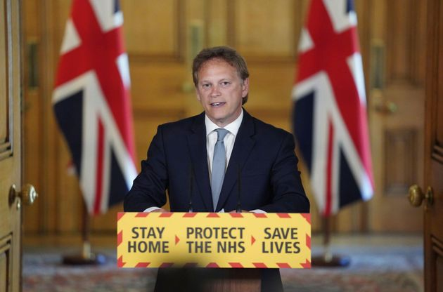 Grant Shapps Tries To Defend Dominic Cummings During Extraordinary Press Briefing