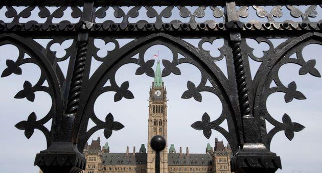 Le Parlement à Ottawa, le lundi 27 avril 2020 (photo