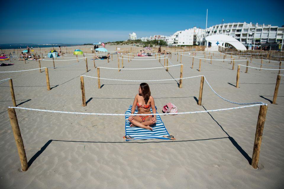 L plage de La Grande