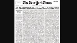The New York Times Fills Entire Cover With Names Of Coronavirus Victims In The