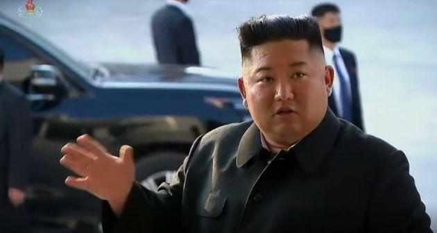지난 1일 순천인비료공장 준공식에 참석했던 김정은 북한