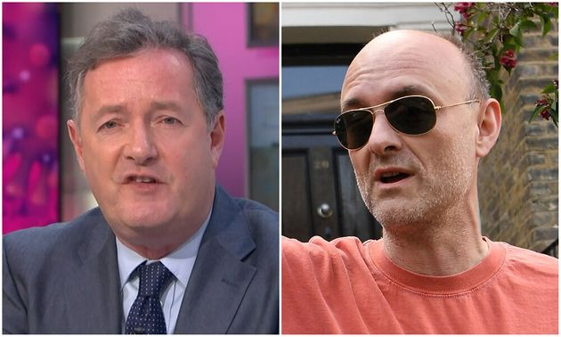 Piers Morgan and Dominic