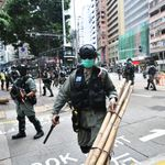 Hong Kong Police Fire Tear Gas At Thousands Of Protesters Opposing New China