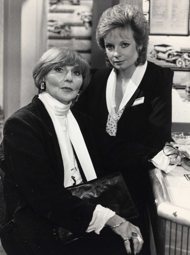 Heather Chasen (seen here with Claire Faulconbridge) played Valerie Pollard in