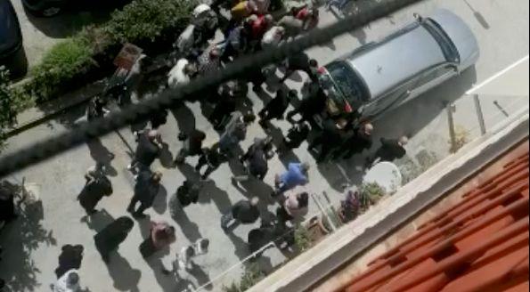 Il funerale rom da cui è ripartito il contagio in