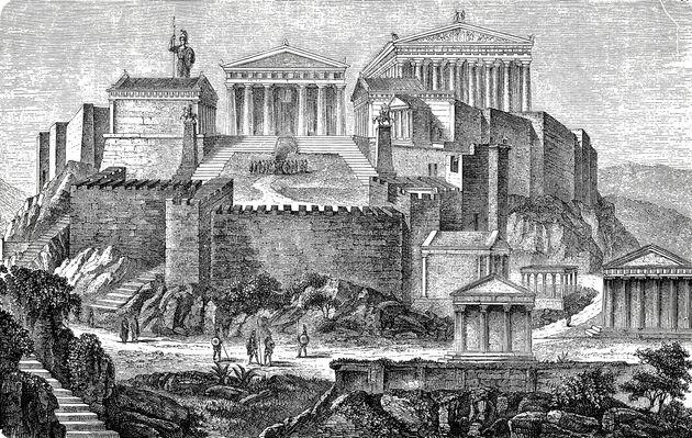 Η Ακρόπολη την εποχή του