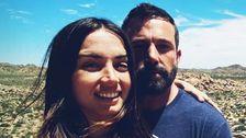 Ben Affleck's Daily Quarantine Strolls With Ana De Armas Now Include His Kids