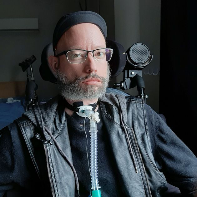 Disability activist Jonathan Marchand lives in a long-term care home outside Quebec