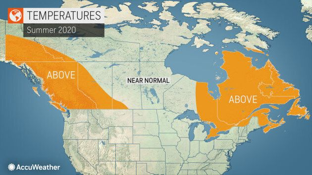 Canada Weather: Here's Your Summer 2020