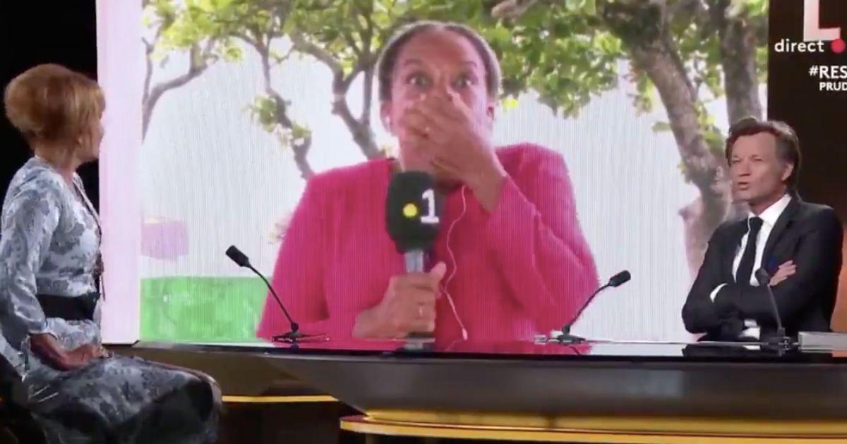 """""""C'est maintenant qu'il me dit que j'étais à l'antenne!"""": Taubira a bien dansé avant de se savoir filmée"""