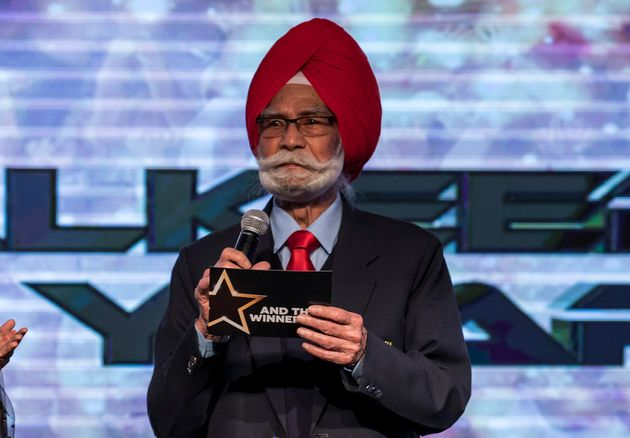 Balbir Singh during the FIH Hockey Stars Awards 2016 at Lalit Hotel on February 23, 2017 in