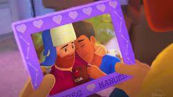 ゲイ男性を主人公にした短編アニメ『Out』をピクサーが発表。「両親へのカミングアウト」を描く