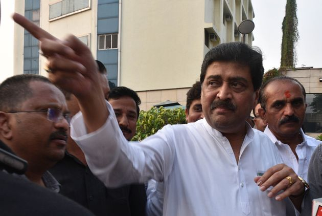 Congress leader and former Maharashtra CM Ashok Chavan in a file
