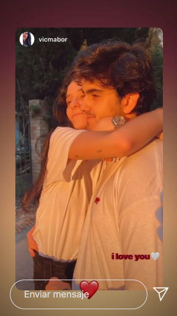 Victoria Federica y Jorge Bárcenas, en mayo de 2020.