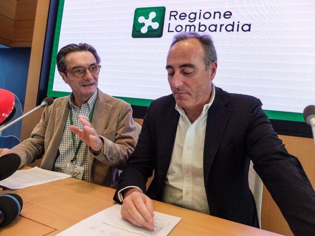 """Zero decessi in Lombardia, Gallera e Fontana: """"Dato da prend"""
