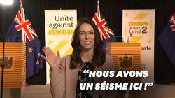 En interview, rien n'arrête la Première ministre néo-zélandaise, pas même un