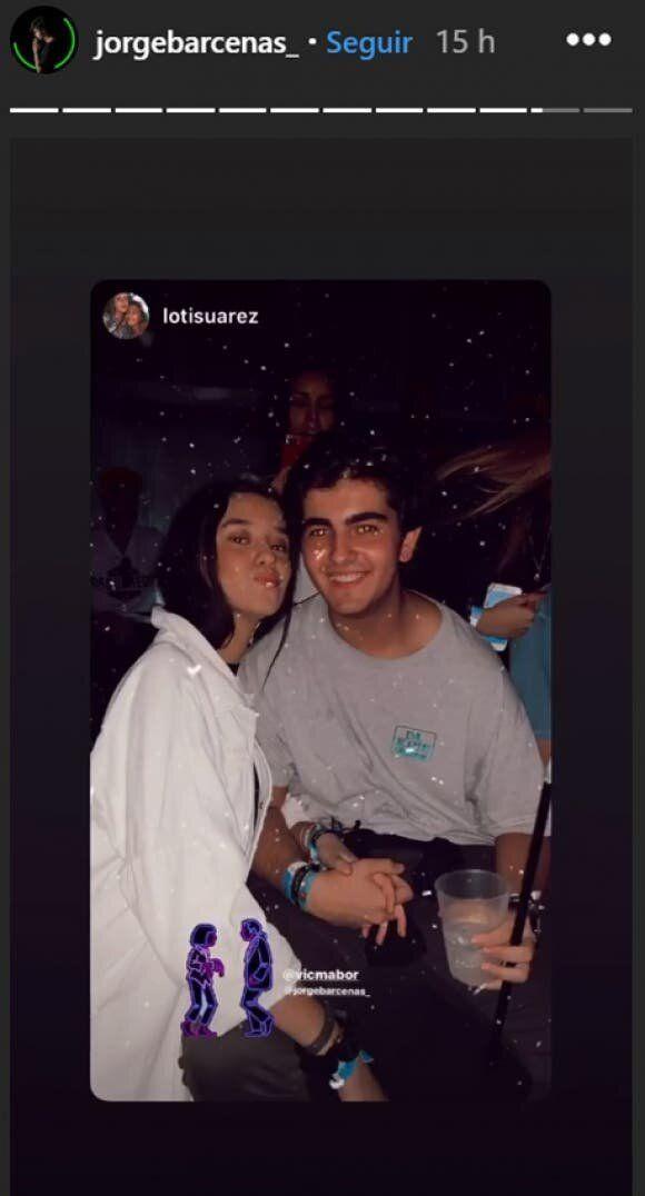 Victoria Federica y Jorge Bárcenas, en la fiesta de Halloween 2019.