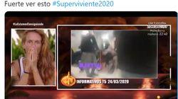 La impactante reacción de una concursante de 'Supervivientes' al ver un vídeo sobre el