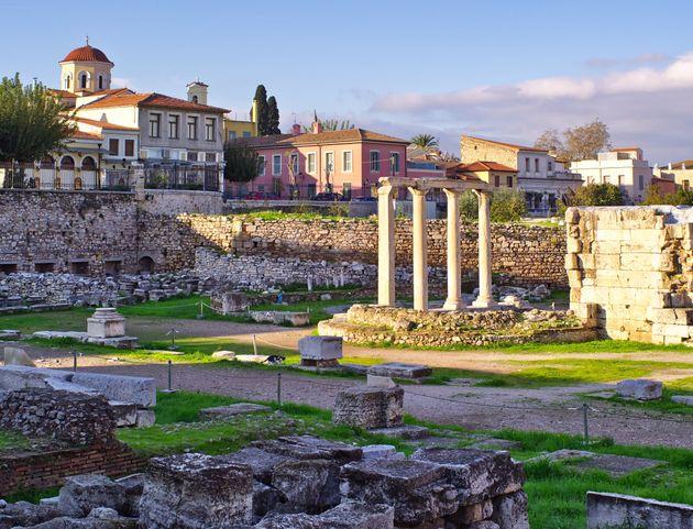 Αθήνα, Ρωμαϊκή