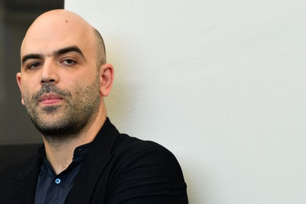 Italian writer Roberto Saviano attends a photocall for the film