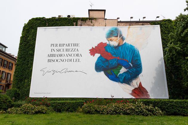 L'omaggio di Giorgio Armani ai nostri medici è