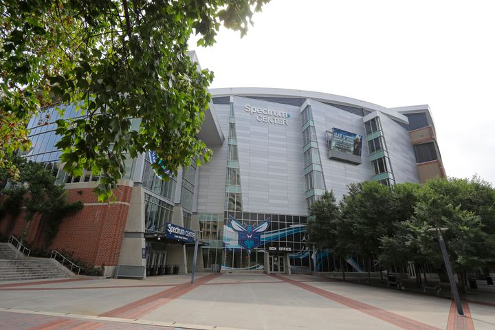 The Spectrum Center in Charlotte, North Carolina, is scheduled to hold the Republican National Convention in August.