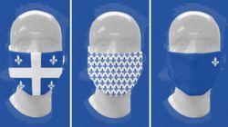 Fête nationale: des masques fleurdelisés à la place du