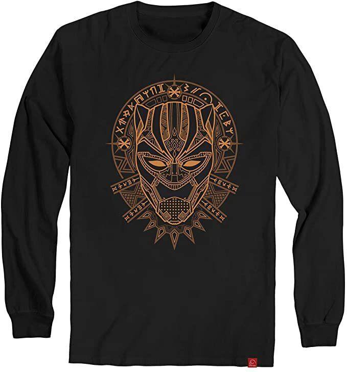 Camiseta Maga Longa Pantera Negra