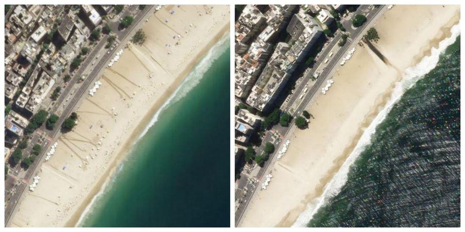 Αριστερά: Η διάσημη ΚοπακαμπάναΡίο...