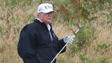 Trump Whines Over Negative Golf Coverage While Attacking Biden, Obama