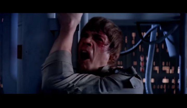 """Dans cette scène inoubliable de """"L'Empire contre-attaque"""", Luke Skywalker n'a pas exactement dit ce que tout le monde a entendu."""