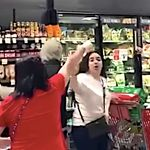 Furious Shoppers Boot Out Woman Buying Groceries Without A Face