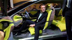 Macron dans une usine Valeo pour présenter le plan automobile ce