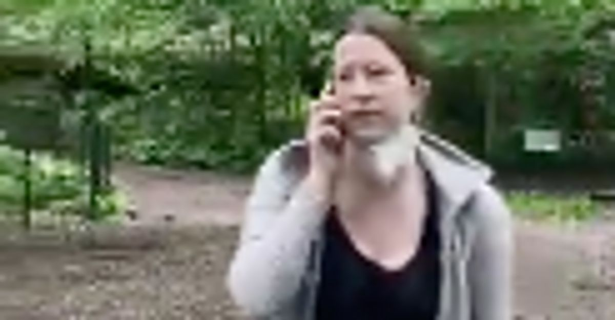 White Woman Calls Cops On Black Man Over Dog Leash Dispute In Viral Footage