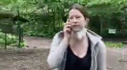 White Woman Calls Cops On Black Man Over Dog Leash Dispute In Viral