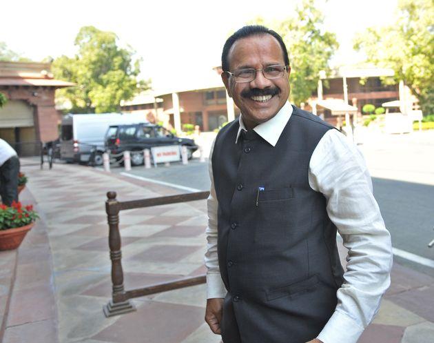 Union Minister Sadananda Gowda in a file