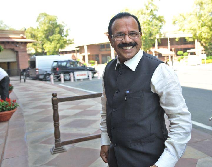 Union Minister Sadananda Gowda in a file photo.