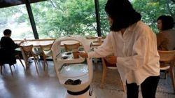 韓国のカフェにロボットバリスタ登場、社会的距離確保に一役