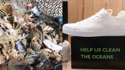 海底から引き揚げた500トンのプラごみ→スニーカーや洋服に変身。ファッションに問われる「つくる責任、つかう責任」