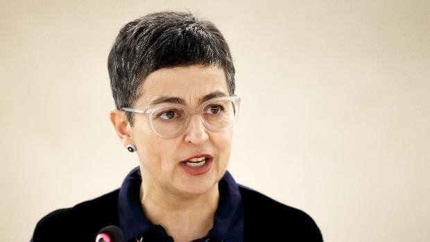 Arancha González Laya, ministra de