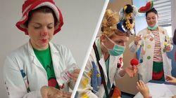 Porte degli ospedali chiuse ai clown dottori, ma loro rispuntano in Rete (di G.