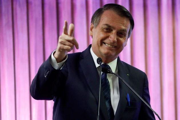 El presidente brasileño Jair